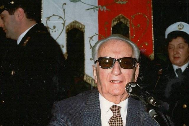Enzo Ferrari, a citizen of Fiorano
