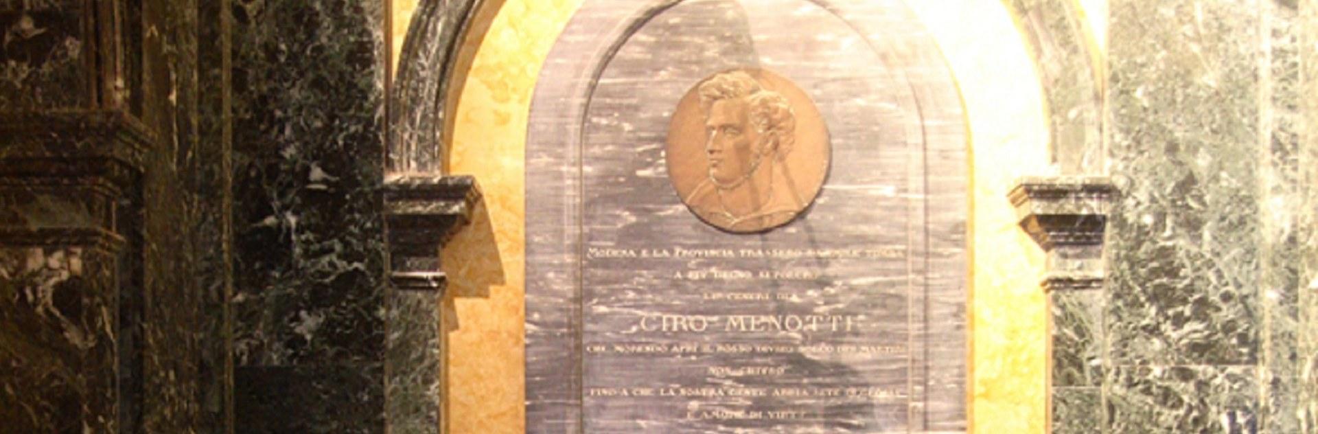 Tomba di Ciro Menotti